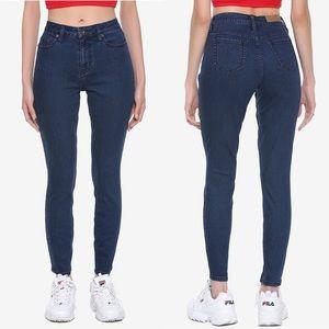 Hot Topic Blackheart Indigo Skinny Jeans • size 9